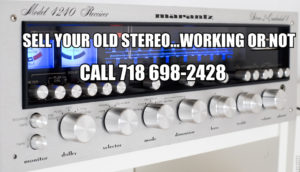 Who Buys Vintage Stereo Equipment in New york and New Jersey